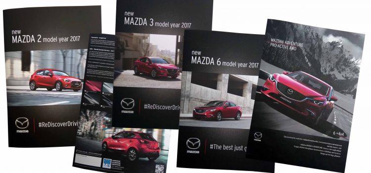 Луксозни папки за Mazda