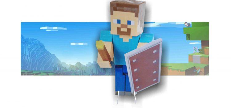 Декори от видеоиграта Minecraft