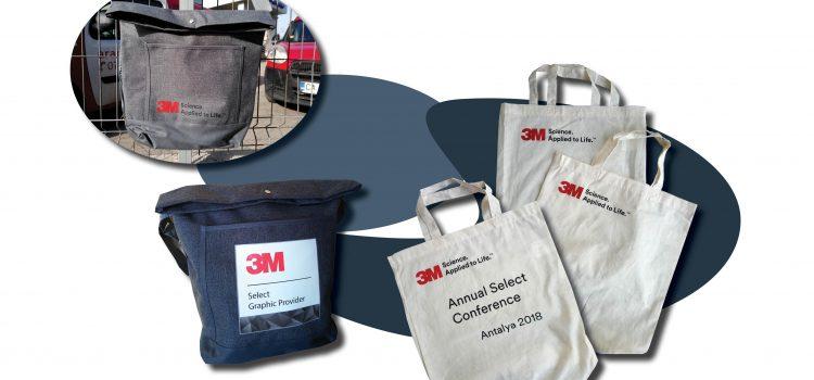 Рекламни химикалки, чанти и торбички за 3М