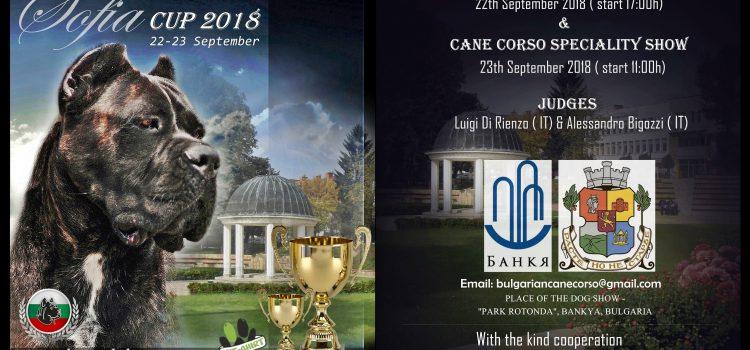 Изготвени рекламни материали за Кане Корсо Клуб България