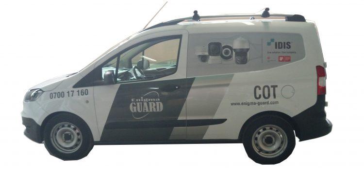 Брандиране  на автомобил за фирма Enigma Guard