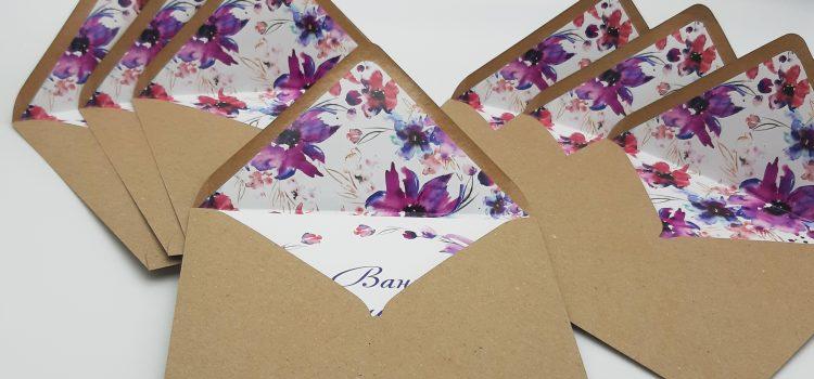 Изготвени и отпечатани по индивидуален дизайн покани за сватба от РАЙЦ-2